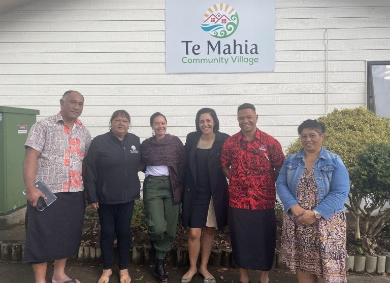 Healthy Families South Auckland team meeting with Maxine.
